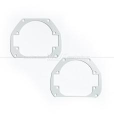 Mazda 3 BL рестайлинг (2011-2013) биксенон на BI-LED Переходная рамка