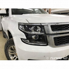 Chevrolet Tahoe GMT K2UXX, Установка 4х Bi-Led линз