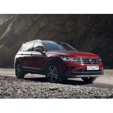 Volkswagen Tiguan (2020-) LED c AFS на Hella 3R Переходная рамка