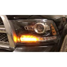 Динамический поворотник от компании Tuning40 для Dodge Ram 2013 - 2018 4 поколение Рестайлинг