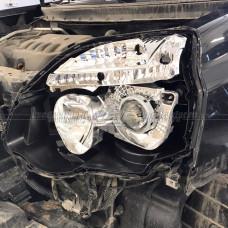 Nissan X-Trail (2010-2015) на Hella 3R Переходная рамка