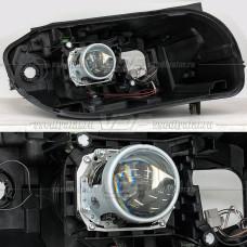BMW X1 (E84) (2009-2015) на Hella 3R Переходная рамка
