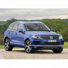 Volkswagen Touareg (2014-2018) на Hella 3R Переходная рамка