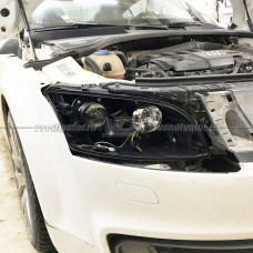 Audi TT (2006-2010) Bosch 3 на Hella 3R без AFS Переходная рамка