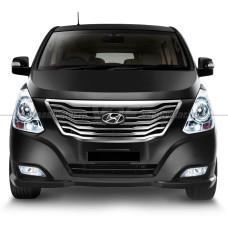 Стекло для фары Hyundai H1 / Starex (2007-2018) Левое