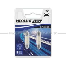 NEOLUX COLD WHITE LED C5W, 36 мм, 6000K