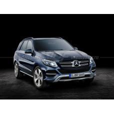 Стекло для фары Mercedes GLE W166 (2015-2018) Левое