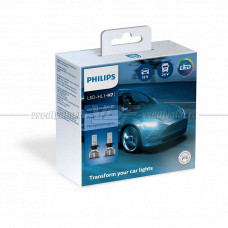 Светодиодная лампа PHILIPS H7 Ultinon Essential LED 6500K, 2 шт.