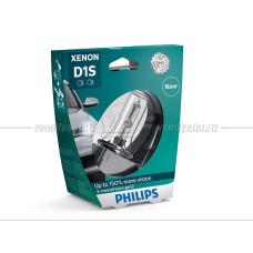 Ксеноновая лампа PHILIPS D1S X-treme Vision gen2 4800K +150%