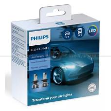 Светодиодная лампа PHILIPS H4 Ultinon Essential LED 6500K, 2 шт.