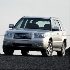 Стекло для фары Subaru Forester II (S11) (SG) (2005-2008) Левое