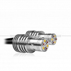 Locator Combo YW W16W Двухцветная светодиодная система задних фонарей автомобиля (оранжево-белая)