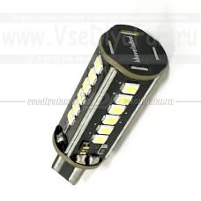 T16-1200 5000К Светодиодная лампа W16W, 24х0,5Вт. (Задний ход)