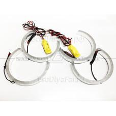 Светодиодные Ангельские глазки BMW X5 E53 Рестайлинг