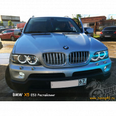 Светодиодные Ангельские глазки для BMW X5 E53 Рестайлинг