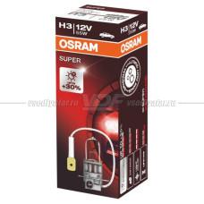 Лампа галогенная OSRAM H3 Super 12V 55W, 1шт.
