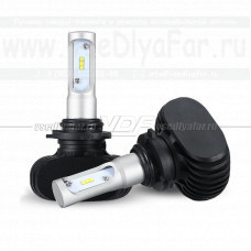 Светодиодная лампа VDF S1 9006 (HB4) 6000K (комплект, 2 шт.)