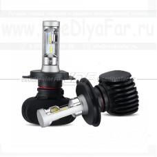 Светодиодная лампа VDF S1 Н4 6000K (комплект, 2 шт.)