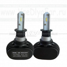 Светодиодные лампы VDF S1 Н3 6000K (комплект, 2 шт.)