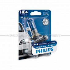 Лампа галогенная PHILIPS HB4 Diamond Vision 12V 55W (P22d), 1 шт.