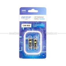 MTF T10 W5W 5000K CAN-BUS