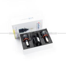 Светодиодные лампы H11 T7 4000LM, Три Цвета 6000K/3000K/4300K (комплект, 2 шт.)