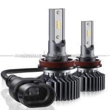 Светодиодные лампы Н11 F6 4000LM, 6000K (комплект, 2 шт.)