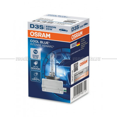 OSRAM D3S Xenarc Cool Blue Intense Ксеноновая лампа 66340CBI