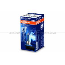 Лампа галогенная OSRAM H11 Cool Blue Intense 12V 55W, 1шт.