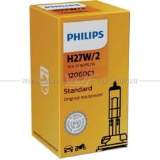 Лампа галогенная PHILIPS H27W/2 Standard 12V 27W, 1шт.