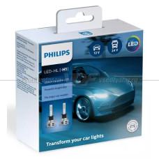 Светодиодная лампа PHILIPS H1 Ultinon Essential LED 6500K, 2 шт.