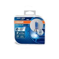 Лампа галогенная OSRAM H7 Cool Blue Boost +50% 12V 55W, 2шт.