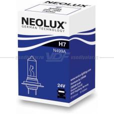 Лампа галогенная NEOLUX H7 70W 24V, 1шт