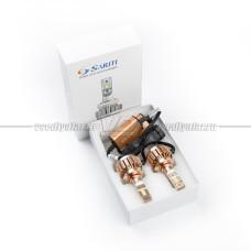 Светодиодные лампы 9006 (HB4) T1 6000LM, 6000K (комплект, 2 шт.)