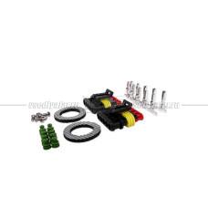 Locator Combo RW светодиодная система габарит, стоп, птф, задний ход (Серебристый)