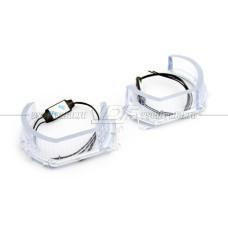 Светодиодные Ангельские глазки 3D MTF 3DA7K