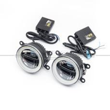 LED Fog 702 Светодиодные противотуманные фары c DRL + Дальний свет