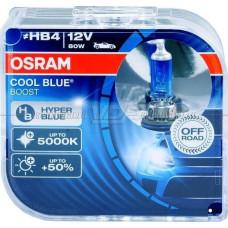 Лампа галогенная OSRAM HB4/9006 Cool Blue Boost 12V 80W, 2шт.